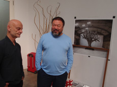 Uli Sigg, Ai Weiwei (photo: Michael Schindhelm)