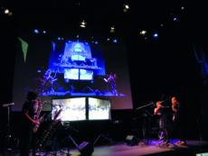 Telematic concert